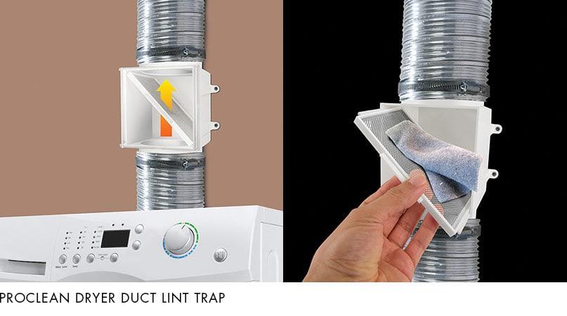 ProClean Dryer Duct Lint Trap