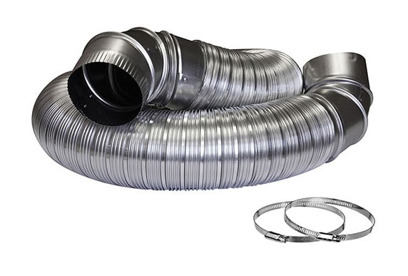 All metal dryer vent kit