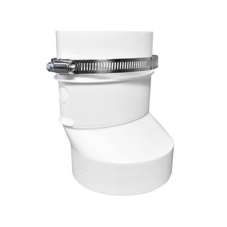 Round to Oval Duct Adapter